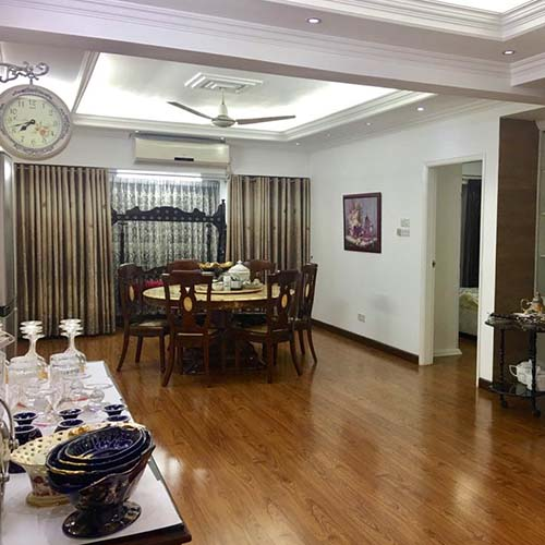 Wooden Floor. Fully furnished apartment in Dhaka